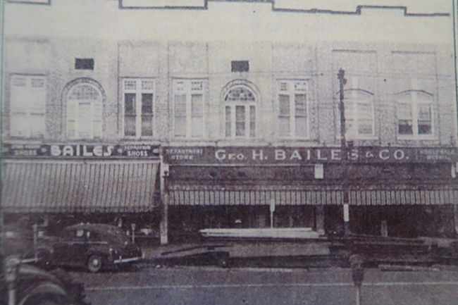 Bailes Store - Harris Home History in Anderson, SC