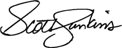 Scott's Signature